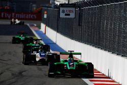 Seb Morris, Status Grand Prix leads Adderly Fong, Koiranen GP