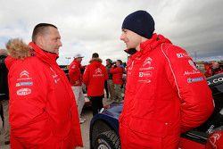 Yves Matton, Citroën Yarış Takım Patronu ile Stéphane Lefebvre, Citroën World Rally Takımı