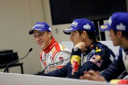 Kris Meeke, Citroën World Rally Team in the press conference