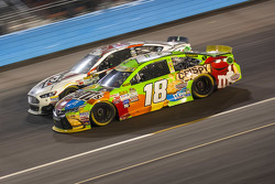 Kyle Busch, Joe Gibbs Racing Toyota and Joey Gase