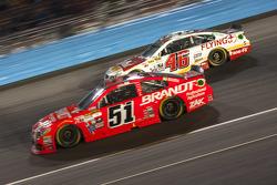 Justin Allgaier, Hscott Motorsports Chevrolet et Michael Annett, Hscott Motorsports Chevrolet