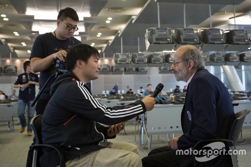 Motorsport中文网采访昂立·佩斯卡洛罗