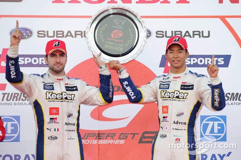 Pemenang balapan, Ryo Hirakawa, Andrea Caldarelli, Lexus Team KeePer Tom's
