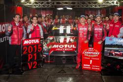 Campioni 2015 GT500 Tsugio Matsuda e Ronnie Quintarelli, Nismo