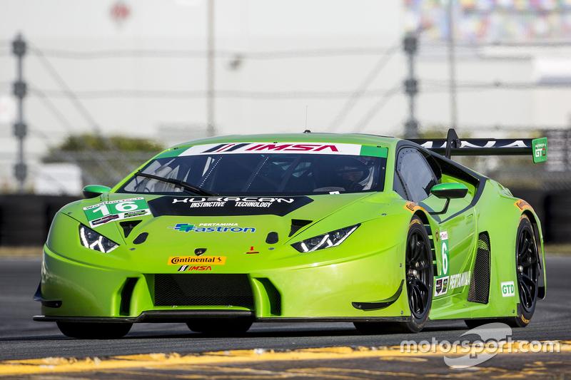 #16 Change Racing, Lamborghini Huracan: Bill Sweedler, Townsend Bell, Bryan Sellers, Madison Snow, B