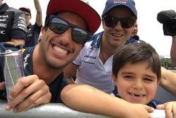 Ricciardo e Massa