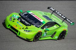 #16 Change Racing Lamborghini Huracan: Bill Sweedler, Townsend Bell, Bryan Sellers, Madison Snow, Br