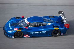 #90 VisitFlorida.com Racing Corvette DP: Marc Goossens, Ryan Dalziel