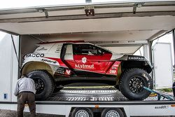 The Peugeot 2008 DKR15+ of Romain Dumas and François Borsotto