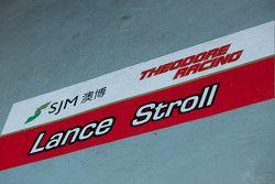 兰斯·斯托尔的车房标签