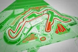 Plan du Circuit of Wales