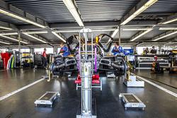 Michael Shank Racing, Teambereich
