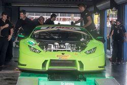 #16 Change Racing Lamborghini Huracan: Bill Sweedler, Townsend Bell, Bryan Sellers, Madison Snow, Br