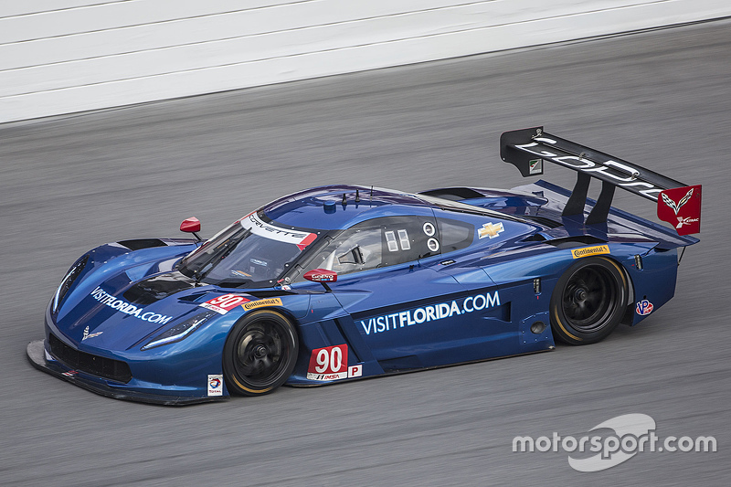 #90 VisitFlorida.com Racing Corvette DP: Marc Goossens, Райан Далзіл