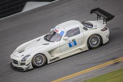 #18 Dragonspeed, Mercedes SLS AMG GT3: Frankie Montecalvo, Nick Mancuso
