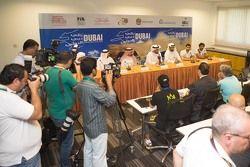 المؤتمر الصحفي قبل انطلاق رالي دبي 2015