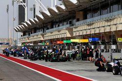 GP3 pit lane