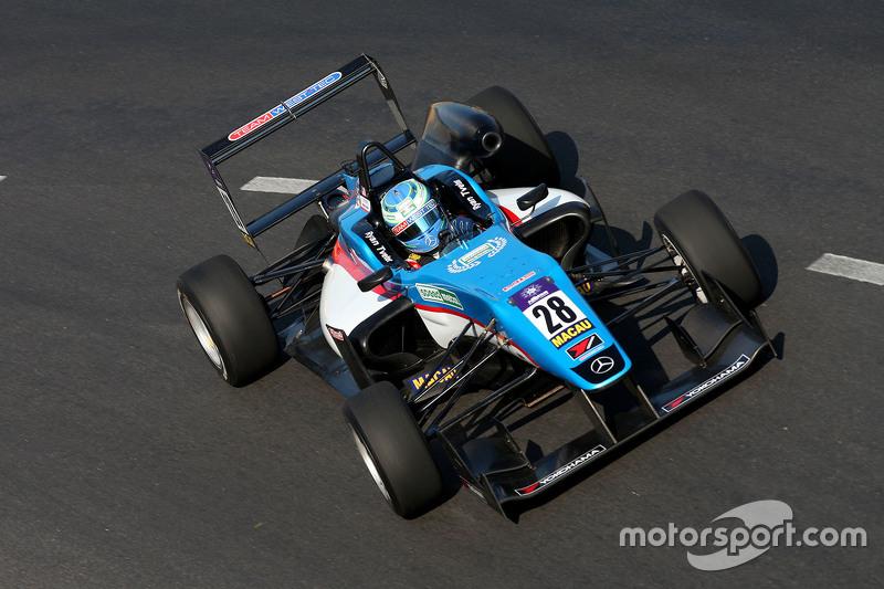 Ryan Tveter, Team West-Tec F3, Dallara Mercedes