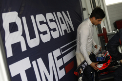 Mitch Evans, RUSSIAN TIME
