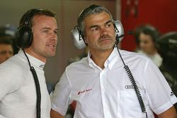 Marcel Fässler, Audi Sport - Takım: Joest ve Dieter Gass, Deputy Audi Motorsport Başkanı