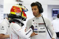 Timo Bernhard ve Mark Webber, Porsche Takımı