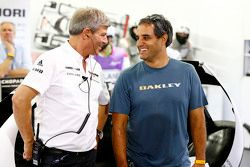 Fritz Enzinger, Porsche Takımı LMP1 direktörü, ve Juan Pablo Montoya