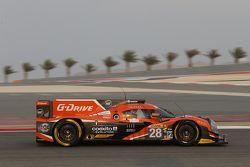 #28 G-Drive Racing Ligier JS P2: Ricardo Gonzalez, Pipo Derani, Gustavo Yacaman