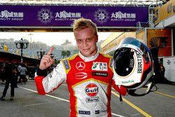 Polesitter Felix Rosenqvist, Prema Powerteam Dallara Mercedes-Benz