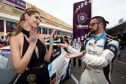 Chica de la parilla con Stefano Comini, SEAT Leon, Target Competition