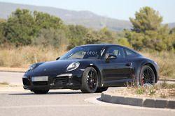 Chassis test 2018 Porsche 911 (992) spyshots