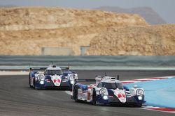 丰田车队1号丰田TS040 Hybrid赛车:安东尼·戴维森、塞巴斯蒂安·布耶米、中岛一贵,丰田车队2号丰田TS040 Hybrid赛车:亚历山大·伍尔兹、斯蒂芬·萨拉赞、麦克·康维