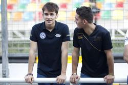 Charles Leclerc, Van Amersfoort Racing Dallara Volkswagen et Dorian Boccolacci, Signature Dallara Volkswagen