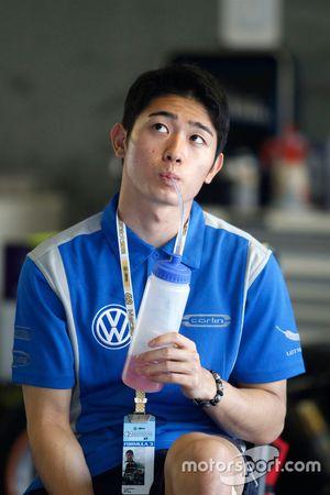 Yu Kanamaru, Carlin Dallara Volkswagen