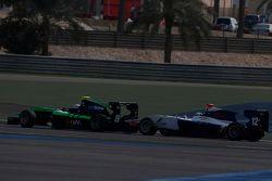 Алекс Фонтана, Status Grand Prix едет впереди Мэттью Перри, Koiranen GP
