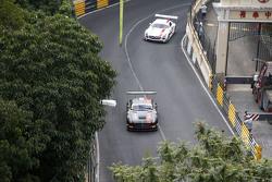 Renger Van Der Zande, Mercedes AMG Driving Academy, Mercedes–Benz SLS AMG GT3; Maro Engel, Mercedes AMG Driving Academy, Mercedes–Benz SLS AMG GT3
