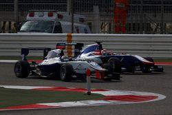 Matthew Parry, Koiranen GP and Antonio Fuoco, Carlin