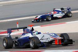 Matthew Parry, Koiranen GP leads Antonio Fuoco, Carlin