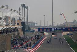 Race 1 starting grid