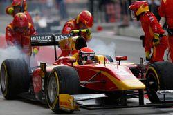 Alexander Rossi, Racing Engineering, s'arrête aux stands