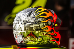 Casco para la última carrera de Jeff Gordon, Hendrick Motorsports Chevrolet