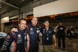 GTE-AM组杆位得主:阿斯顿马丁车队98号阿斯顿马丁Vantage GTE赛车:保罗·德拉·拉纳、佩德罗·拉米、马蒂亚斯·劳达