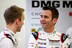 Timo Bernhard and Romain Dumas, Porsche Team