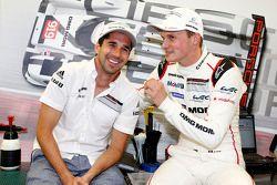 Neel Jani ve Marc Lieb, Porsche Takımı