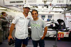 Mark Webber, Porsche Team and Juan Pablo Montoya