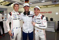 Polesitters #17 Porsche Team Porsche 919 Hybrid: Timo Bernhard, Mark Webber, Brendon Hartley