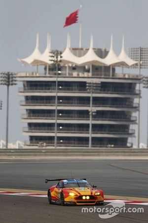 #99 Aston Martin Racing Aston Martin Vantage GTE: Alex MacDowall, Fernveo Rees, Richie Stanaway