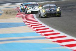 #88 Abu Dabi Proton Competition Porsche 911 RSR: Marco Mapelli, Khaled Al Qubaisi, Klaus Bachler