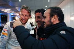 Jenson Button ve Daniel Ricciardo