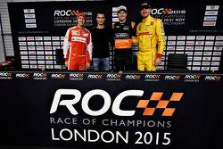 Sebastian Vettel, Pascal Wehrlein, Nico Hulkenberg, Ryan Hunter-Reay