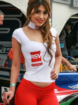 Chicas en el Paddock de Argentina RSV